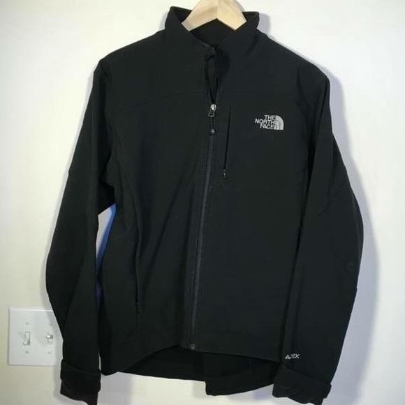 cb4fbfefb Black North Face Jacket dri-fit