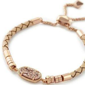 Kendra Scott Cruz Bracelet Rose Gold/Druzy