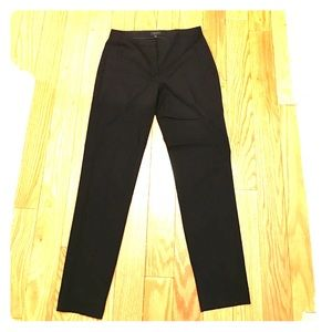 Theory straight leg ankle wool pants