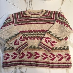 Vintage Peruvian Alpaca Sweater