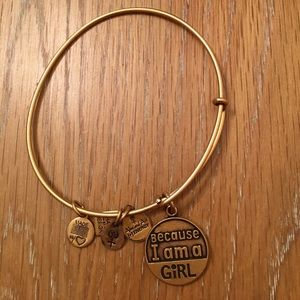 Because I am a Girl Alex & Ani bracelet
