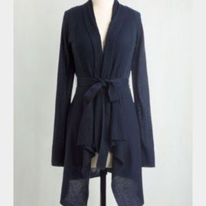 Coastal Cafe Cardigan in Navy from Modcloth