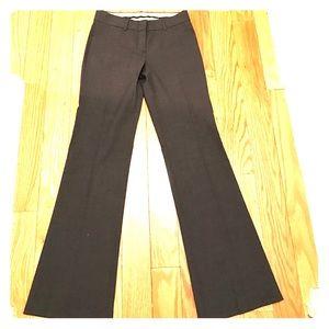 Theory charcoal grey wool pants