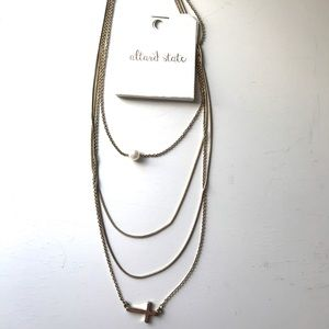 Altar'd State Layer Gold Necklace