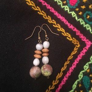 Handmade beaded earrings OOAK