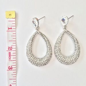 NWT PAGEANT PROM WEDDING FORMAL EARRINGS ✨