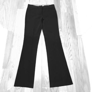 Black theory pants in viscose material