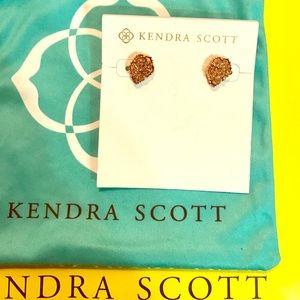 Kendra Scott - Rose Gold Drusy Tessa's