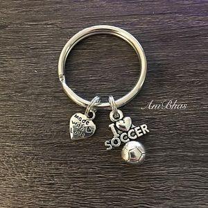 Jewelry - Soccer Key Ring