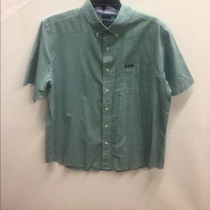 NWOT Chaps  Easy Care Short Sleeve Button Down