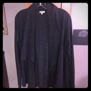Splendid Open Front Shawl Collar Cardigan byAnthro