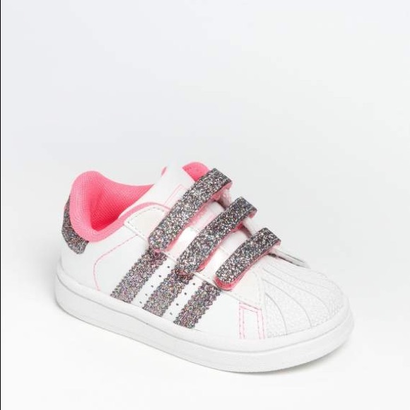 6436e20b61c3 adidas Other - Adidas Sparkle Superstar Sneakers