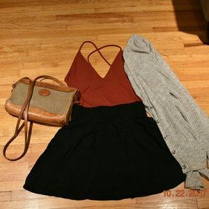 Nordstrom Black Skirt