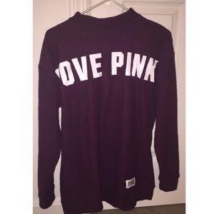 VS PINK Oversized Sweatshirt