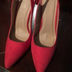 Cute red pumps! Charlotte Russe-Never worn