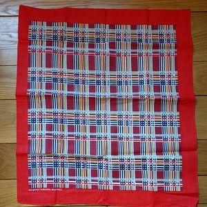 Vintage NWOT Fast Color colorful bandana