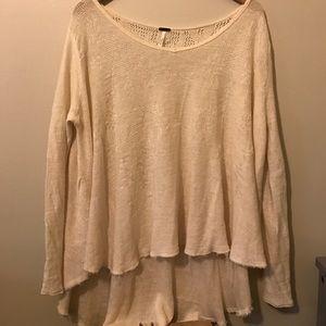 FREE PEOPLE XS oversized sweater 💜💜💜