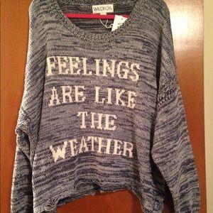 Wildfox sweater oversized