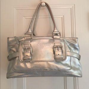 Michael Kors silver bag