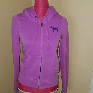 Victoria's Secret purple hoodie