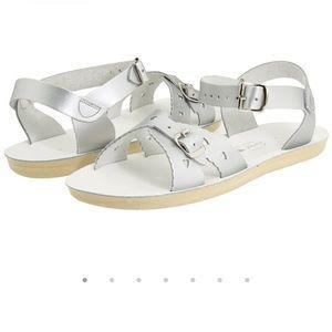 Saltwater Silver Sandals