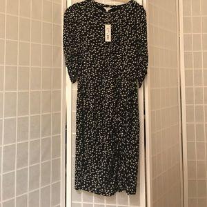 NWT Rebecca Taylor floral fizz dress. Size L