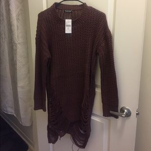 Sexy Sweater Dress