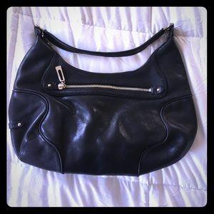 Cole Haan black leather purse