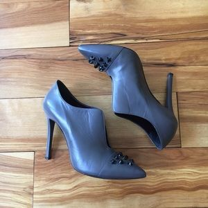 Made in Italy Studded Booties Grey EU40/US 9