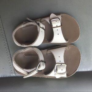 Salt water toddler sandals