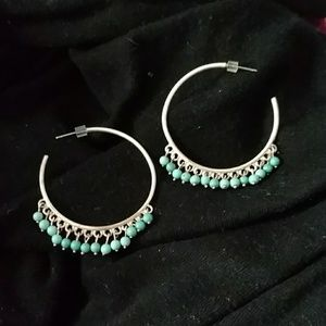 Stella and Dot hoops