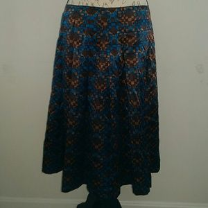 Hip Pleated Skirt