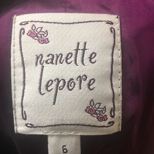 Nanette Lepore Jacket Blazer Size 5