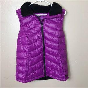Puffer vest Purple