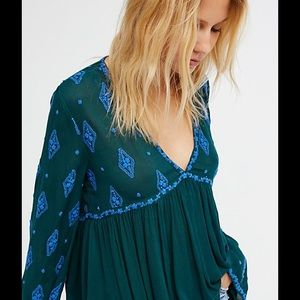 Beautiful Free People Embroidered dress.