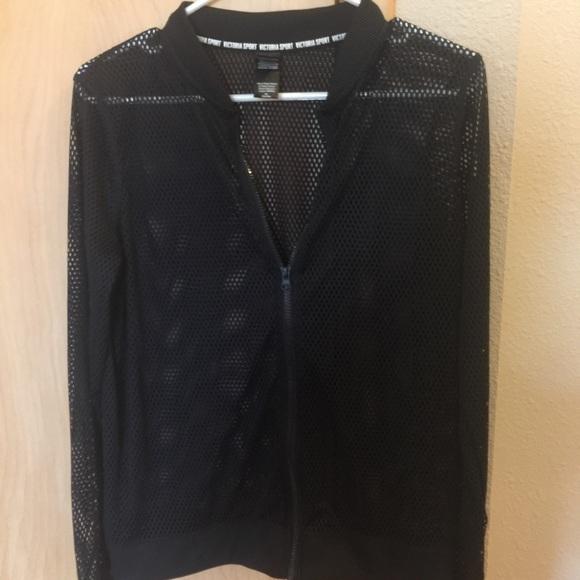 60a6c9448 VIctoria's Secret mesh bomber jacket