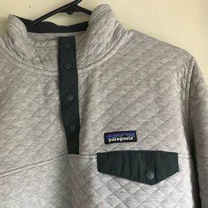 1d431ad359b Patagonia Sweaters - W s Patagonia Organic Cotton Quilt Snap-T Pullover