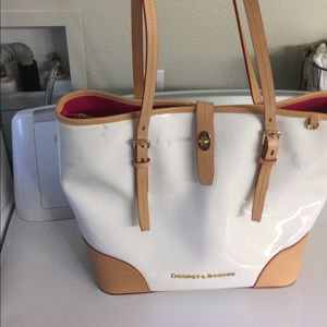 Dooney and Bourke Large Patent Leather Tote