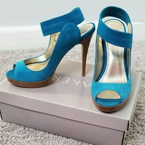 Teal Bakers shoes