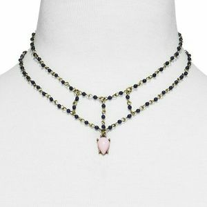 {Sugarfix} Danity Double Beaded Necklace