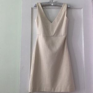 Cream shift dress by Forever21