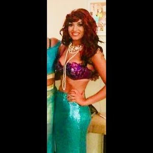 Mermaid Halloween costume adult