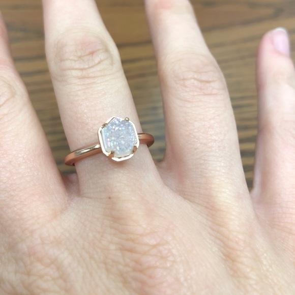 5cd8c1e02021b Kendra Scott ring Size 8 Calvin ring NWOT