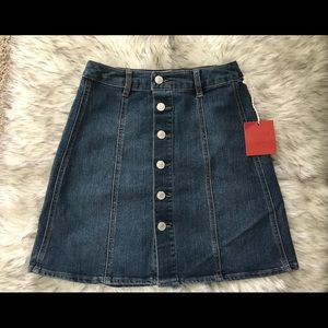 NWT denim skirt
