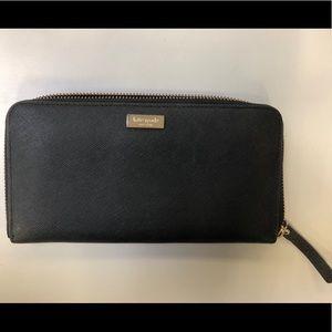 EUC Black Kate Spade Wallet