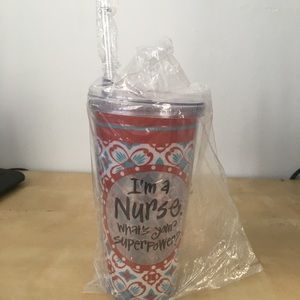 Nurse Superpower Tumbler