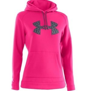 UNDER ARMOUR • Breast Cancer Awareness Hoodie • M
