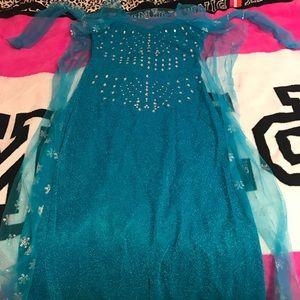 Elsa Frozen Dress Costume