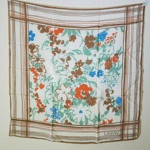 100% parisian silk Vintage Lanvin designer