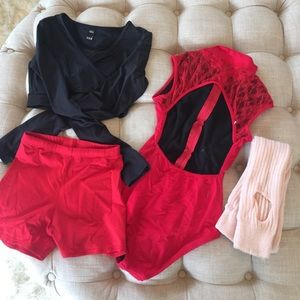 Dance Bundle !!! Adult S in excellent condition!
